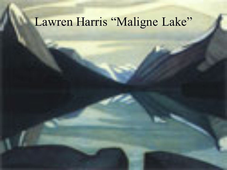 Lawren Harris Maligne Lake