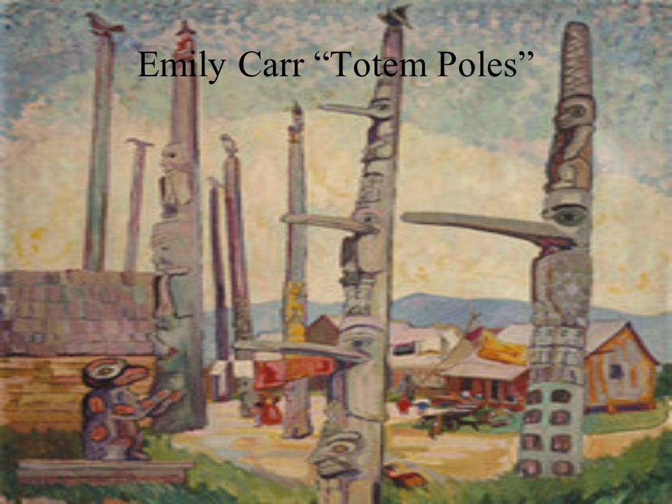 Emily Carr Totem Poles