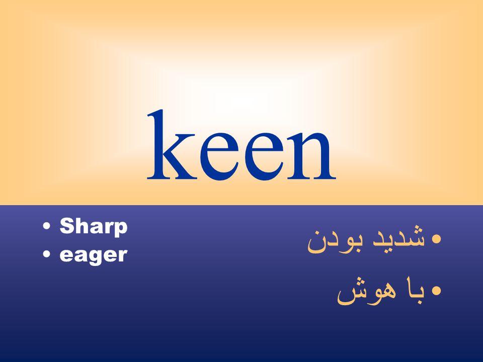 keen Sharp eager شديد بودن با هوش