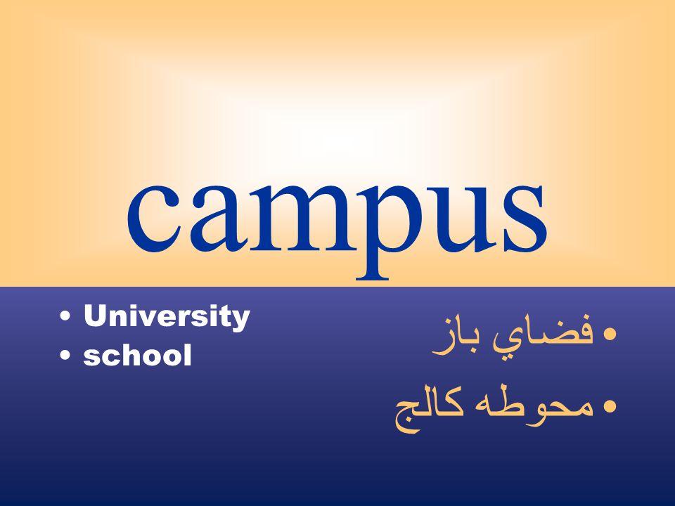 campus University school فضاي باز محوطه كالج
