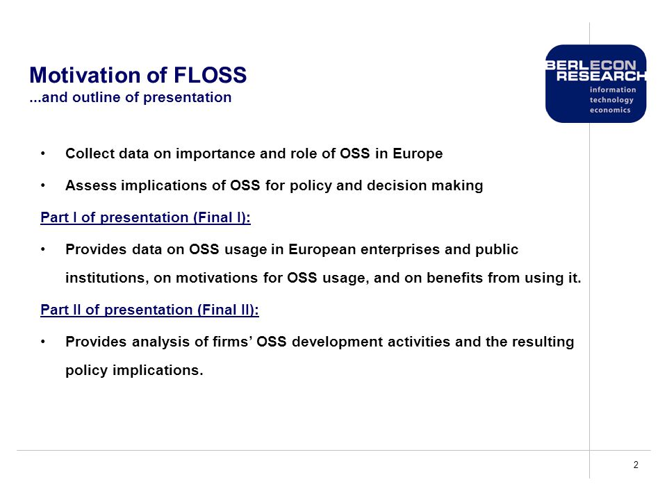 13 OSS activity as basic research Motivation and policy implications Firms engage in basic research when some returns can be captured.