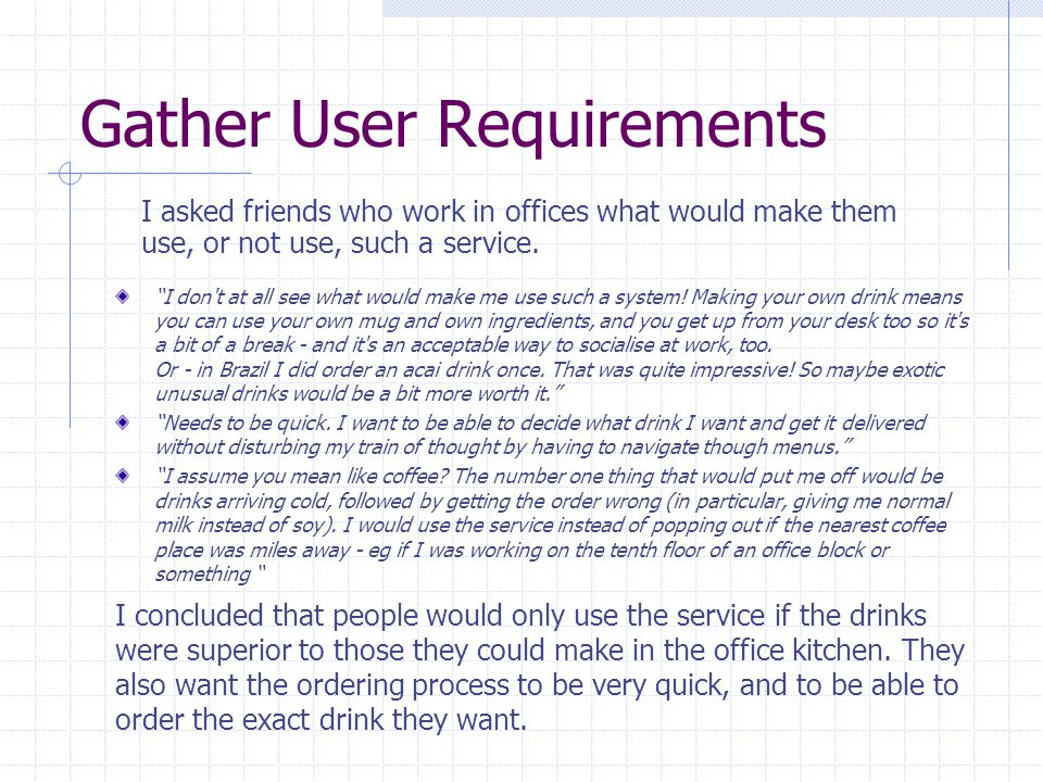 Functional Specification The user will log in to the service automatically if they are logged in to the company network.
