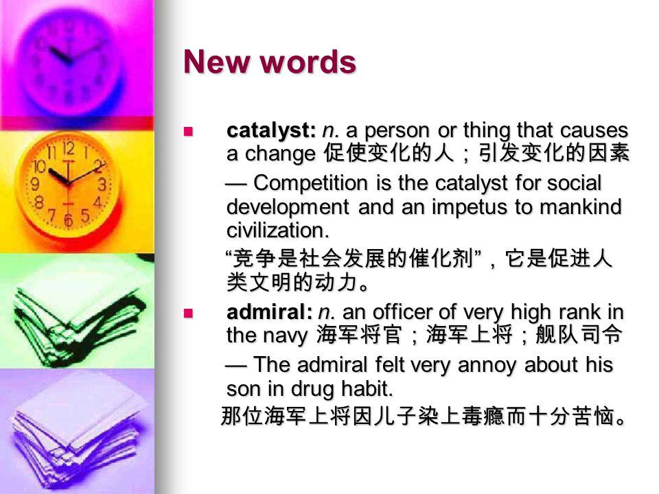 New words maneuver: n.a military training exercise 军事演习 maneuver: n.