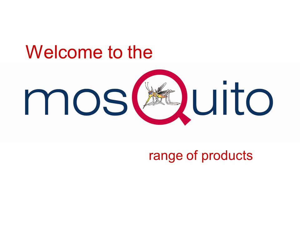 Welcome to the range of products