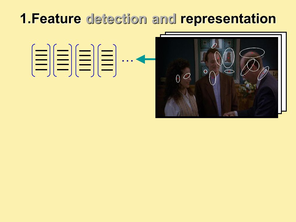 … 1.Feature detection and representation