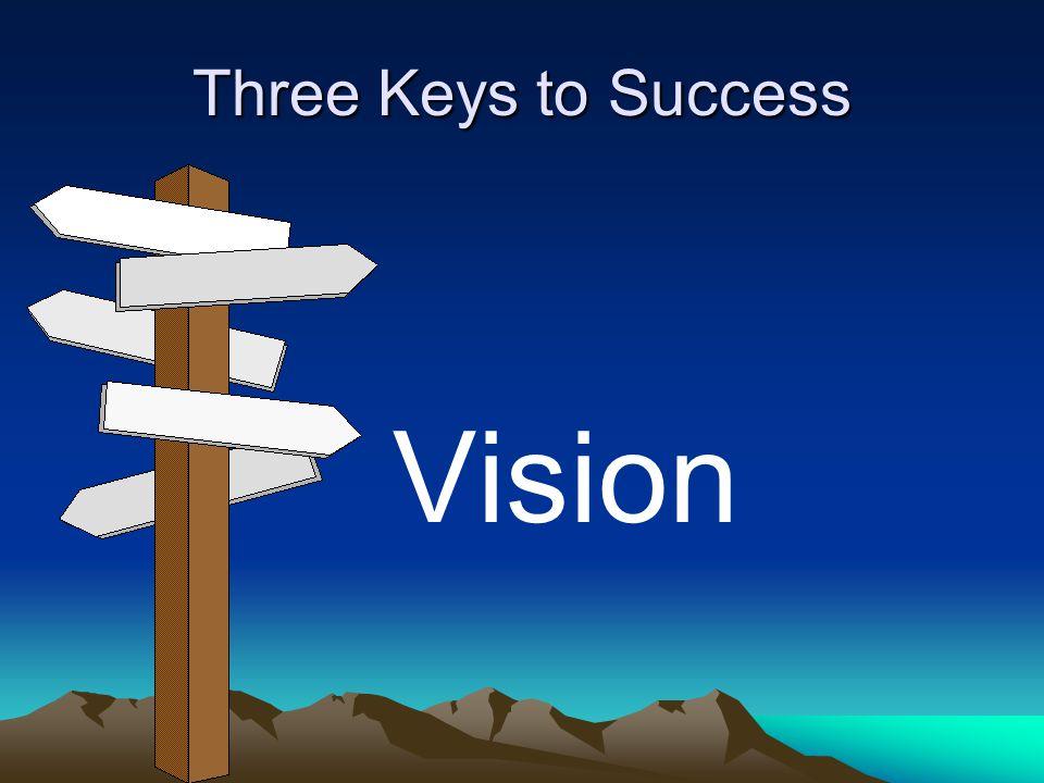 Three Keys to Success Vision