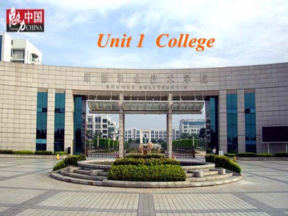 Unit 1 College