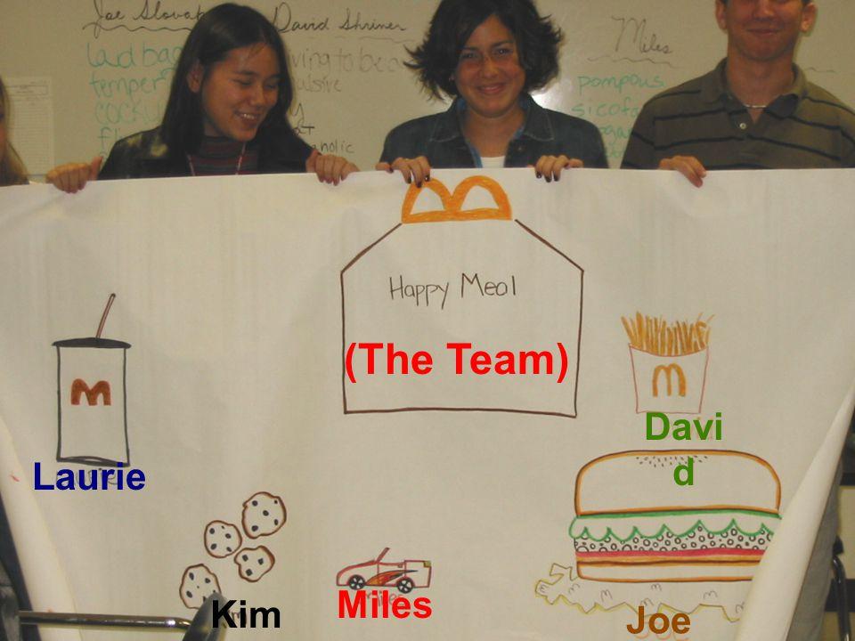 Laurie (The Team) Davi d Kim Miles Joe