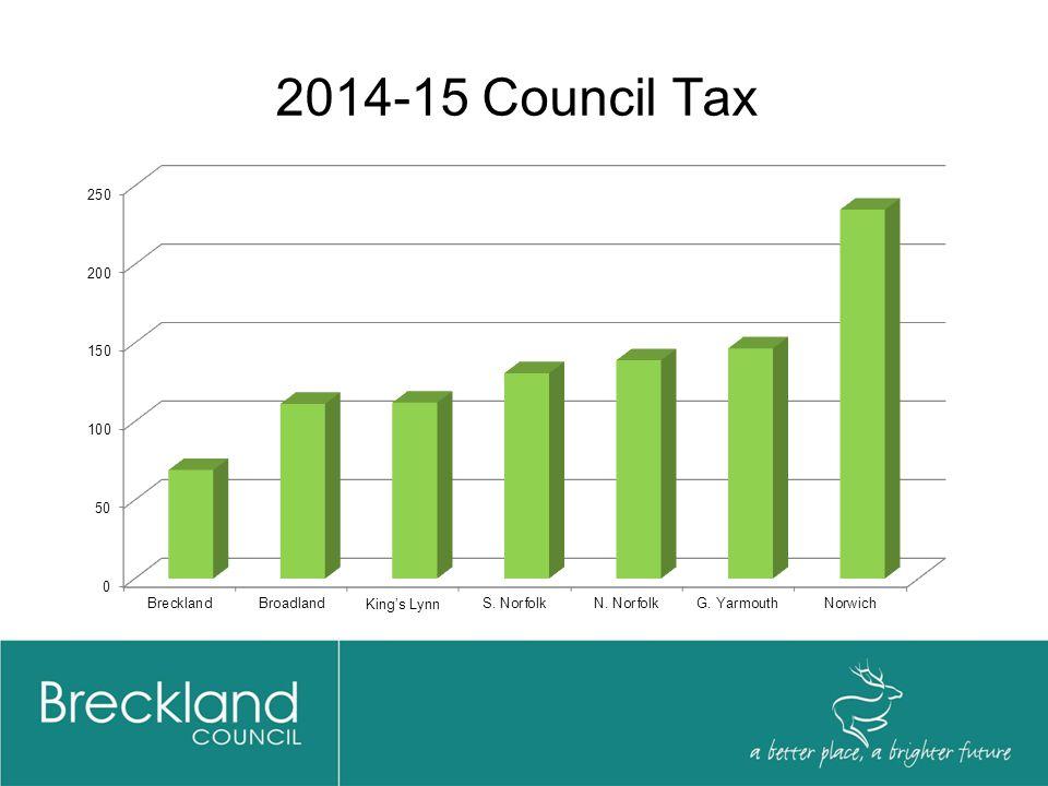 2014-15 Council Tax