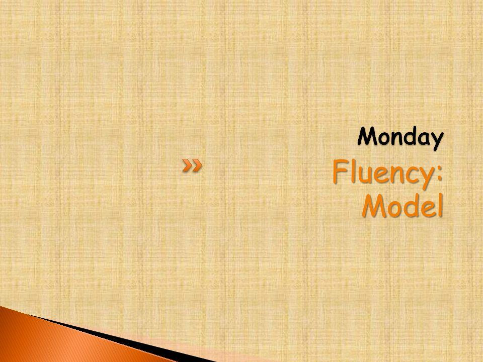 Fluency:Model