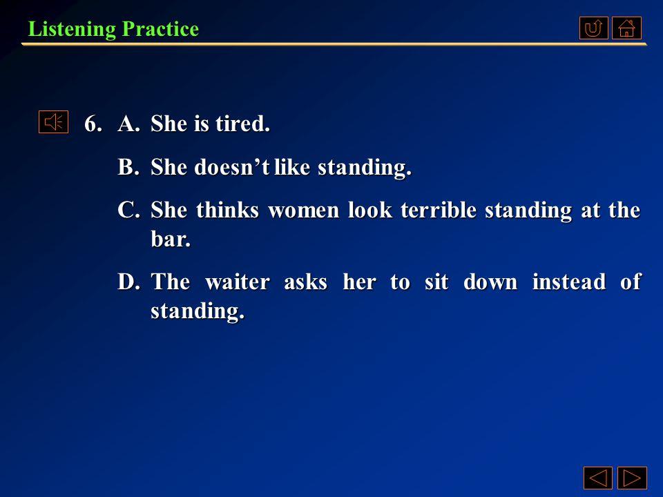 Listening Practice Conversation 2 Questions