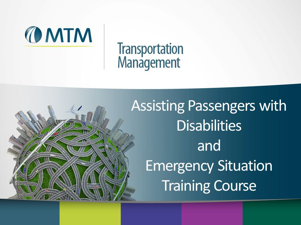Assisting Passengers with Disabilities and Emergency Situation Training Course