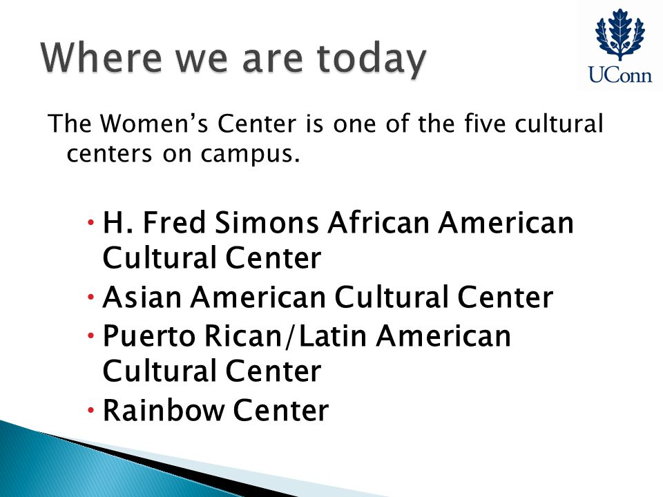 The Women's Center is one of the five cultural centers on campus.