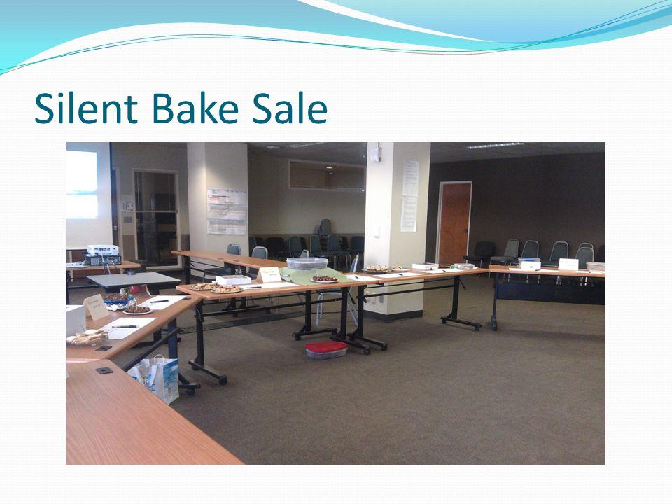 Silent Bake Sale
