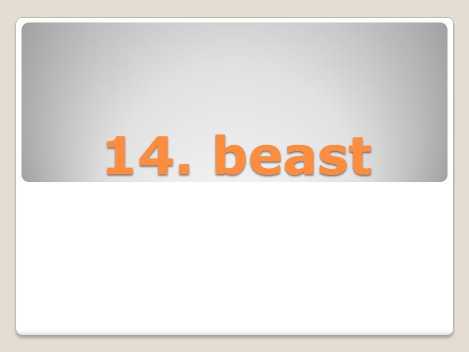 14. beast