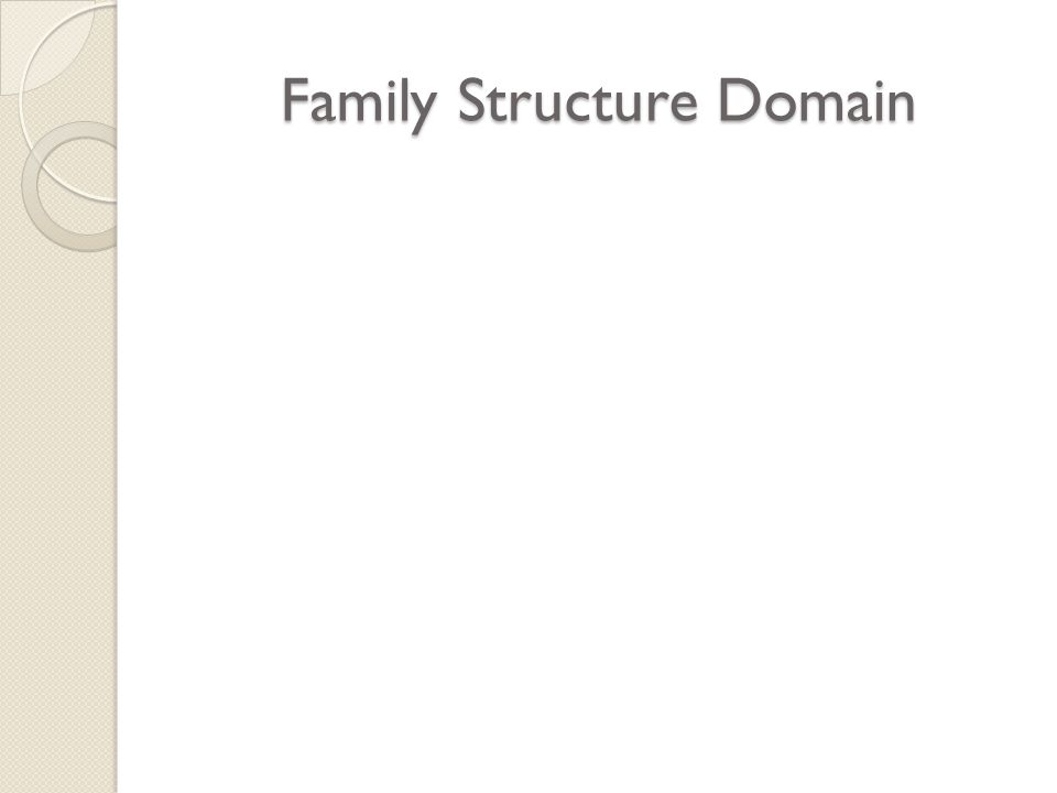 Family Structure Domain