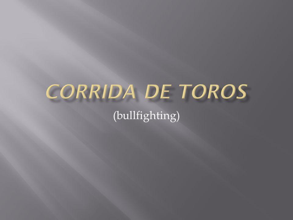 (bullfighting)