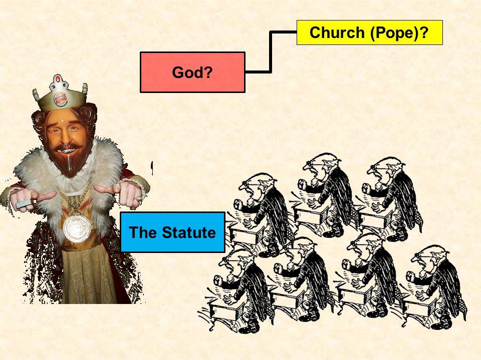 The Statute God