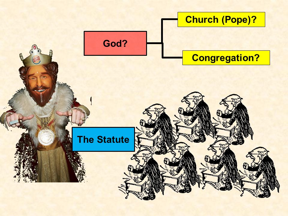 The Statute God Church (Pope)