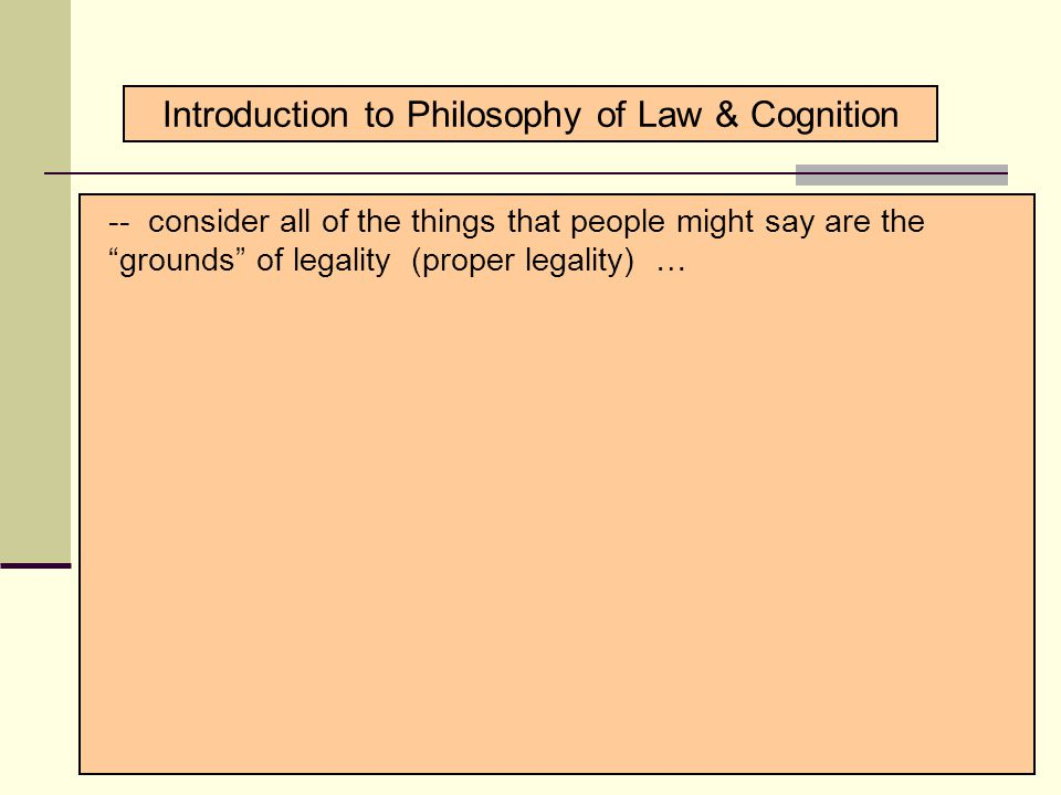 Introduction to Philosophical Concepts 1. Philosophy's Mission 2.