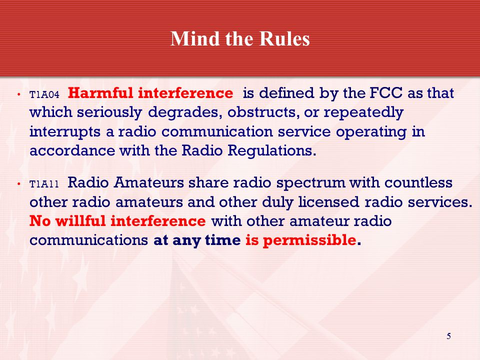 66 Mind the Rules T1A06 The Radionavigation Service is one of the safety-of- life services, which are always top priority communications.