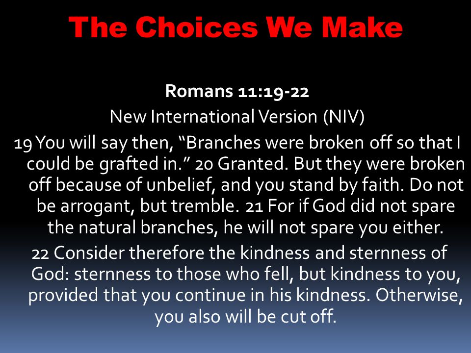 The Choices We Make Mark 1:7-8 - And preached, saying, There cometh one mightier than I after me, the latchet of whose shoes I am not worthy to stoop down and unloose.