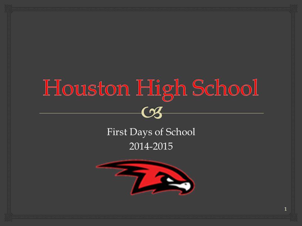 First Days of School 2014-2015 1