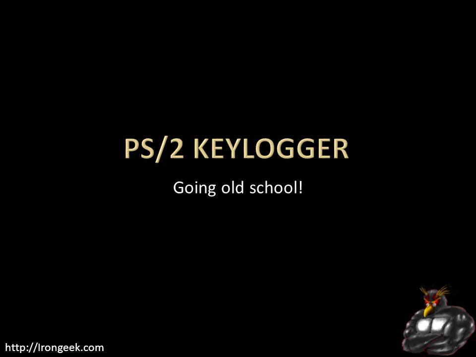 http://Irongeek.com Going old school!