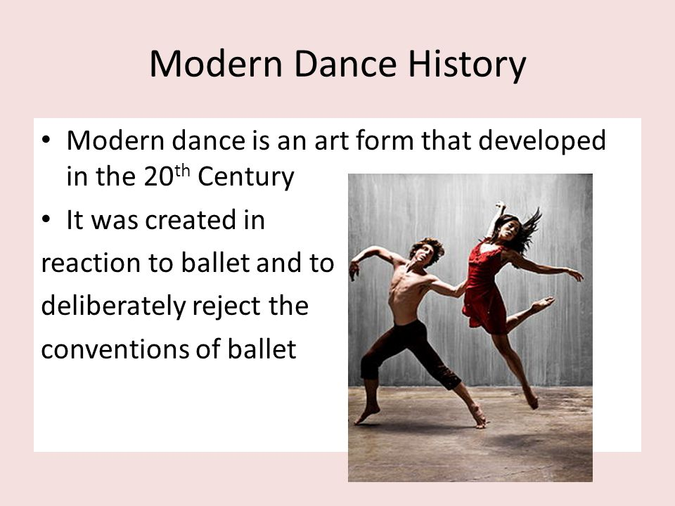 Part 5: The First Generation leads to the Second Generation After the mother (Isadora Duncan), came the soil – the First Generation of Modern Dancers (Ruth St.