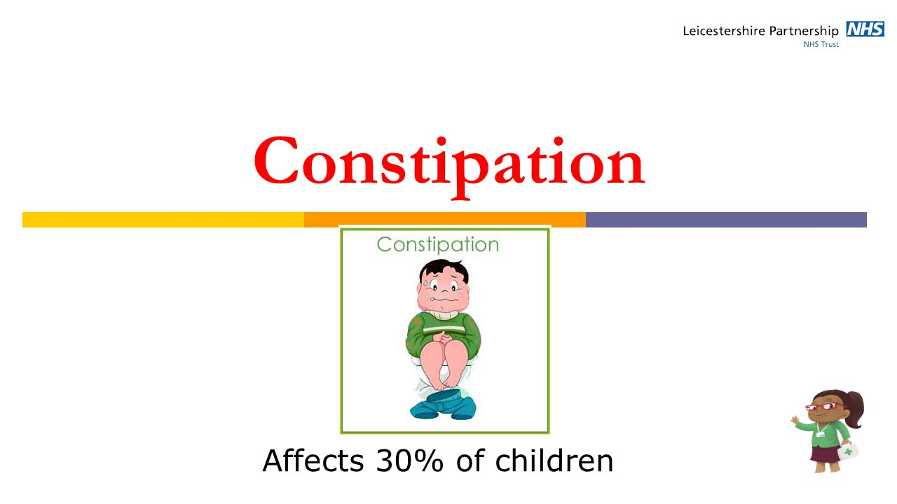 Constipation Affects 30% of children