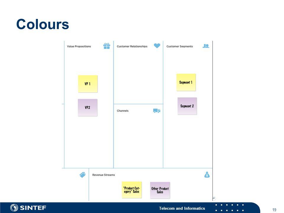 Telecom and Informatics Colours 19