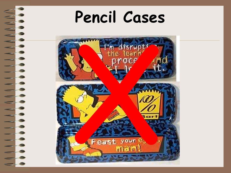 X Pencil Cases