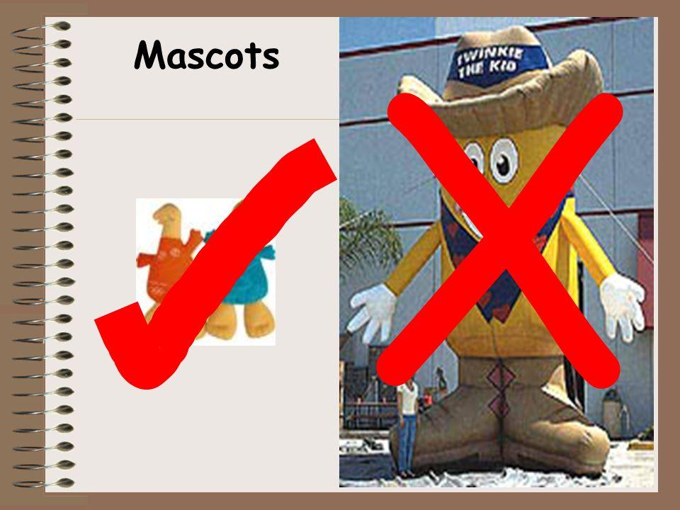 X Mascots