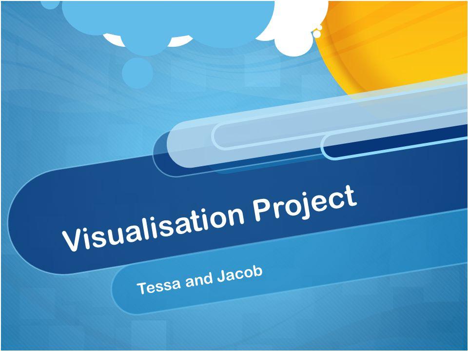 Visualisation Project Tessa and Jacob