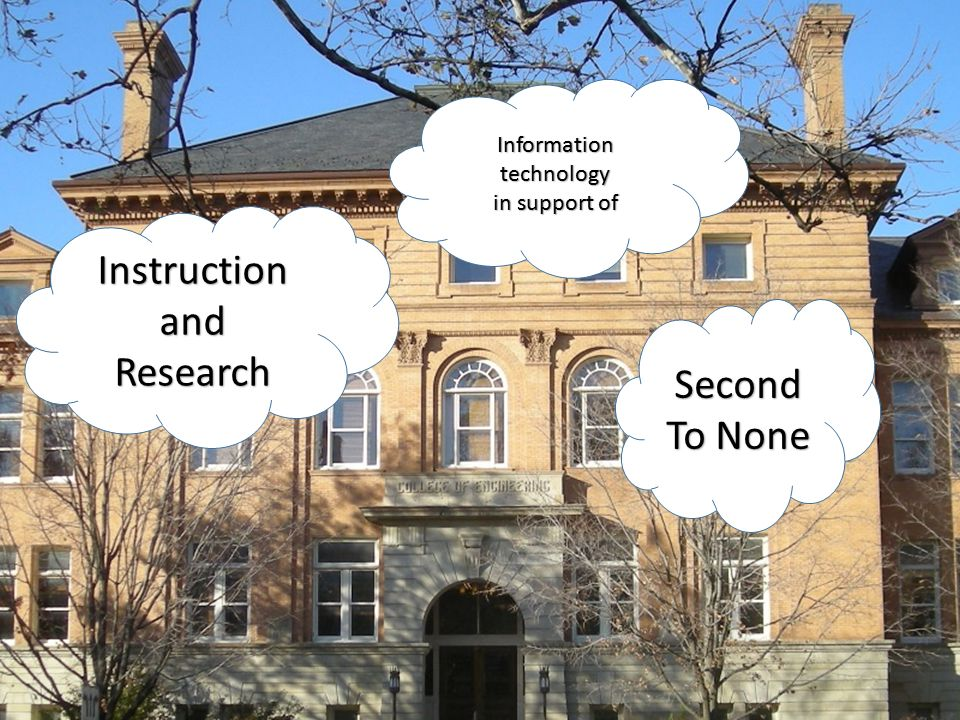 Instruction and Research Information technology in support of Second To None