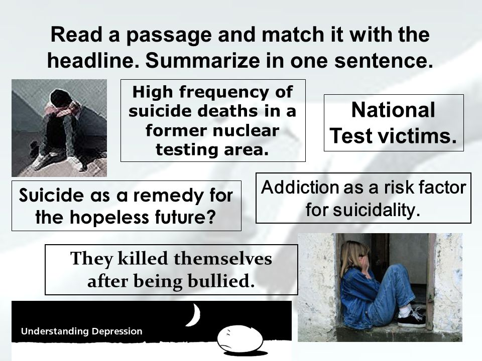 SUICIDE.Statistics. What do you think of this.
