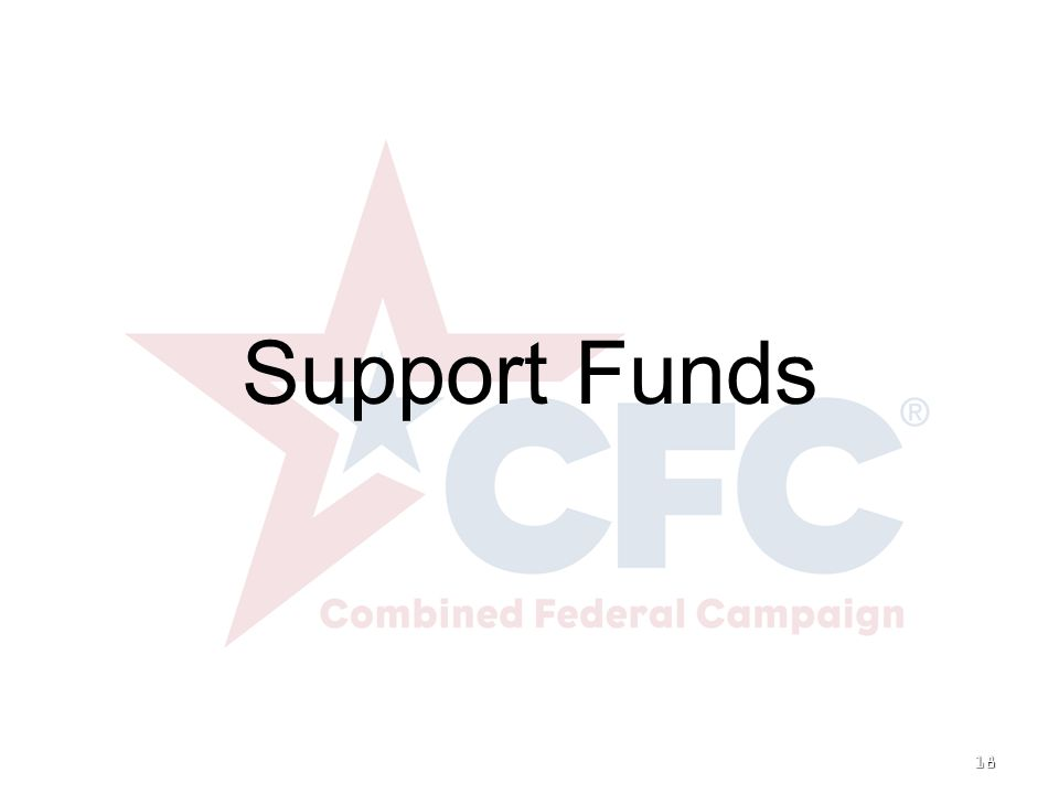 18 Support Funds