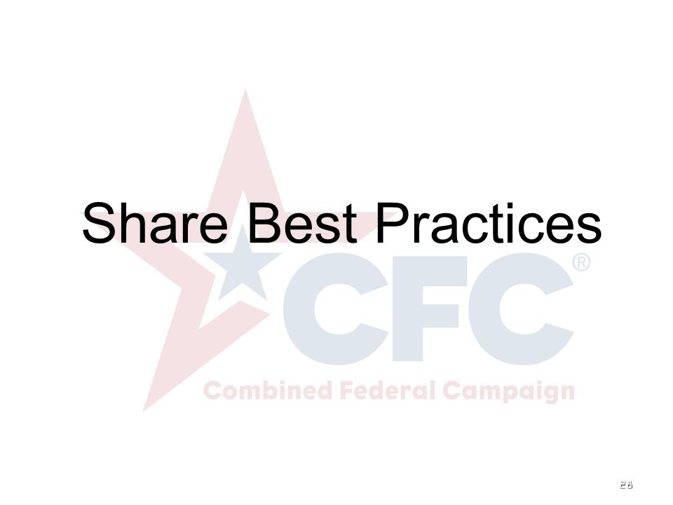28 Share Best Practices