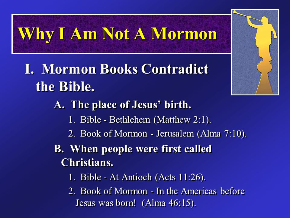 Islam & Mormonism A Latter-Day Prophet Muhammad Joseph Smith Both disliked the religious division of their day Both claimed to receive a special revelation Both were characterized as uneducated A Latter-Day Prophet Muhammad Joseph Smith Both disliked the religious division of their day Both claimed to receive a special revelation Both were characterized as uneducated