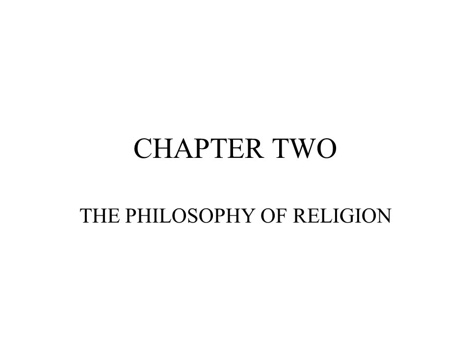 Section A.Challenges to Religious Belief 1.