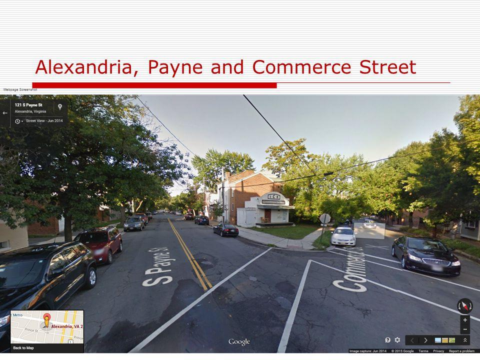 Alexandria, Payne and Commerce Street 30