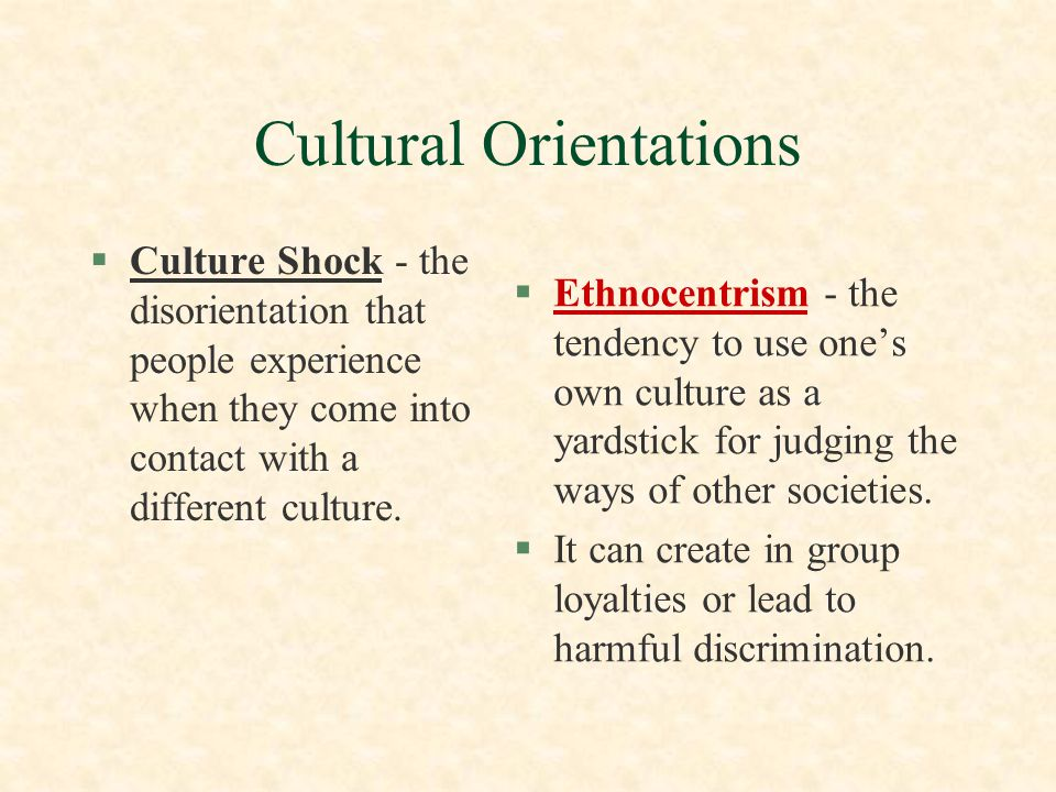 Practicing Cultural Relativism §To counter our tendency to use our own culture as a tool for judgment, we can practice cultural relativism.
