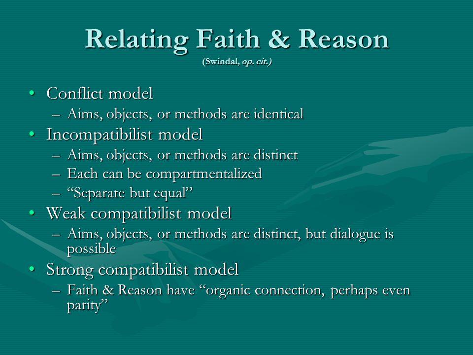 Relating Faith & Reason (Swindal, op.