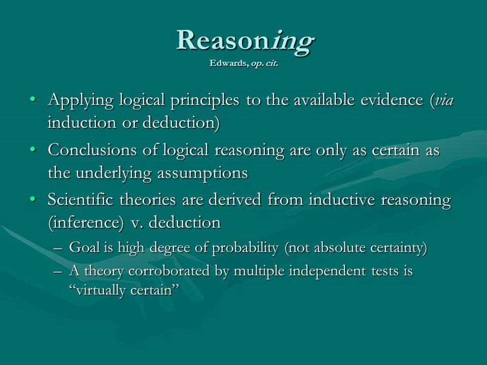 Reasoning Edwards, op. cit.