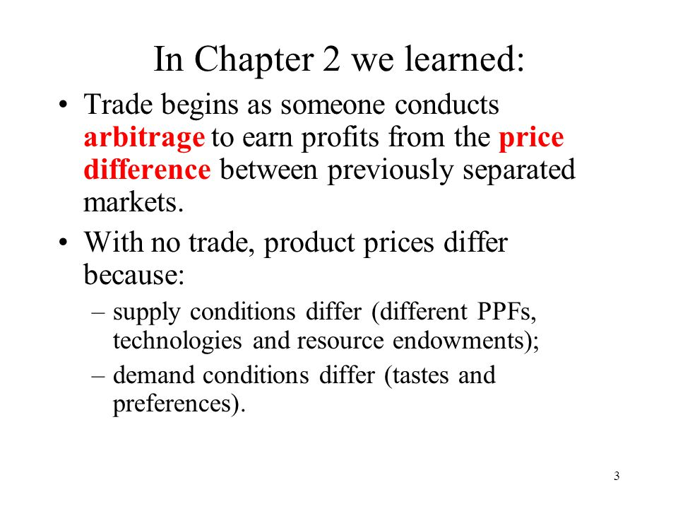 14 How does the relative abundance of a resource determine comparative advantage.