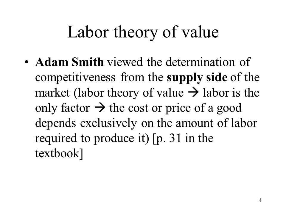 75 Criticism of new trade theory 1.