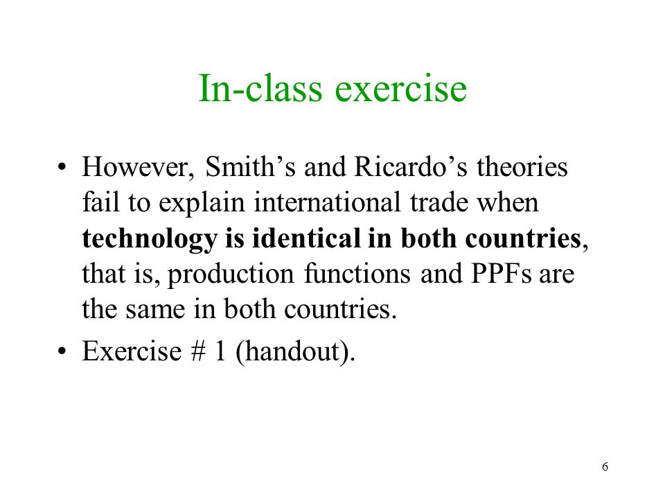 57 In-class exercise Figure 2 (handout). Exercise # 2 (handout).
