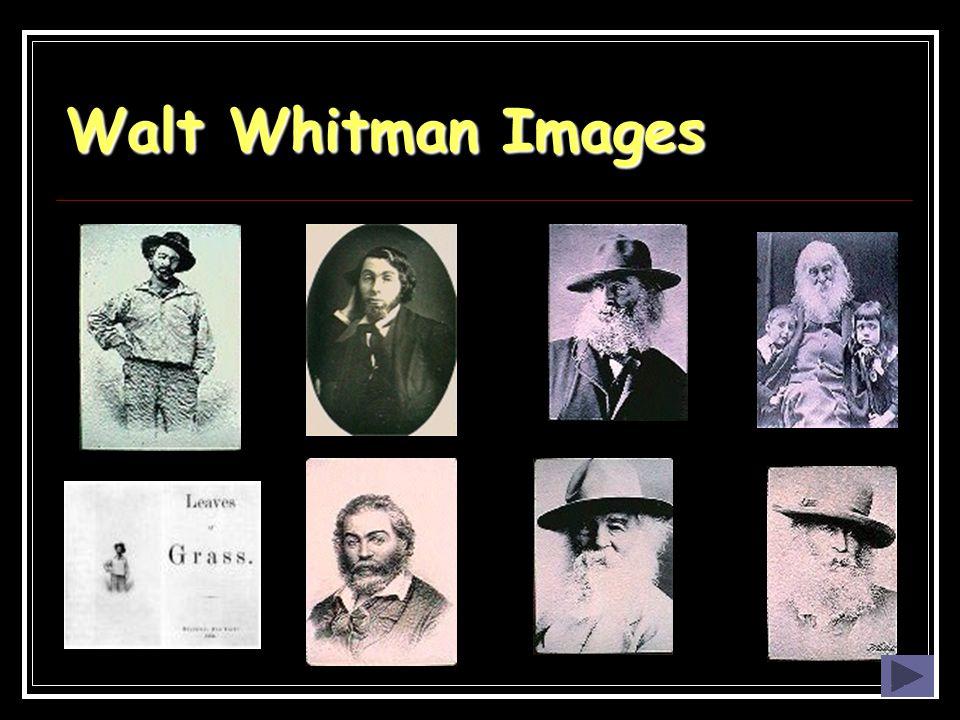 Walt Whitman Images