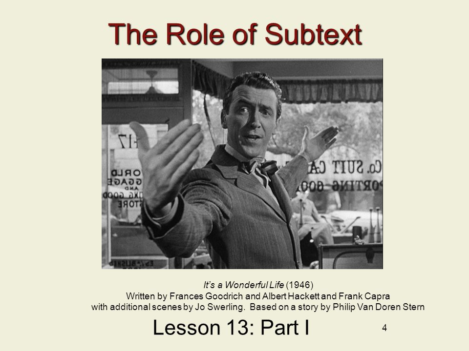25 Revealing the Subtext Lesson 13: Part III Akeelah and the Bee (2006) Written by Doug Atchison