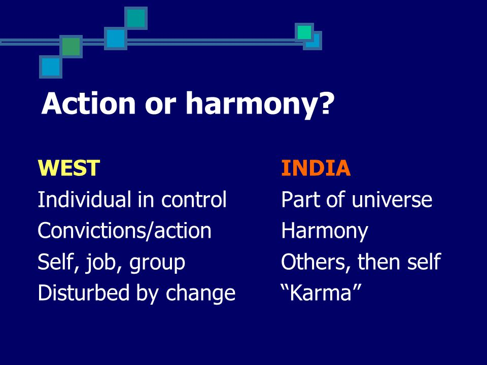Action or harmony.